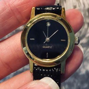 Accessories - Quartz watch with diamond